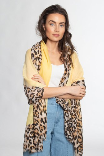 Zmillas Solid Leo Scarf Yellow/leo