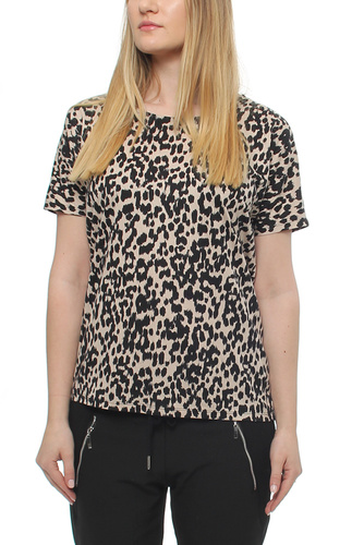 Yoki T-shirt Painted Leopard