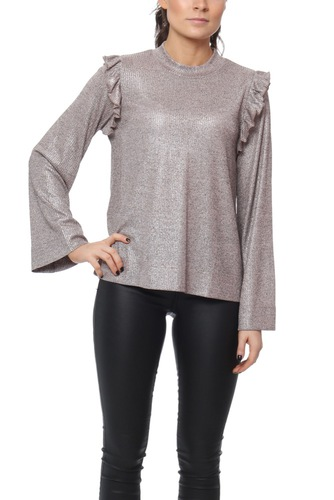 Dry Lake PENELOPE KNIT SWEATER SHINY PEARL