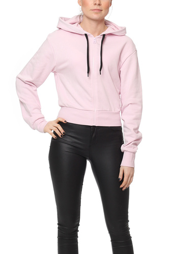 Cheap Monday ZIP HOOD PALE PINK