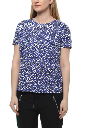 YOKI T-SHIRT PAINTED DOTS BL