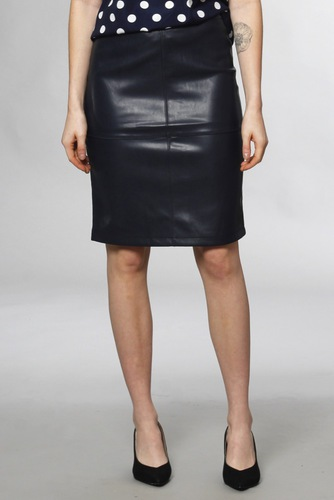Vila Vipen New Skirt Total Eclipse