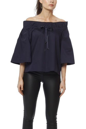 Rodebjer Milagros Blouse Deep Navy