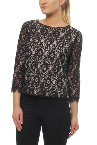 Polly Blouse Black