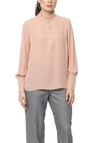 Selected Femme Slflexie Ls Top Cafe Creme
