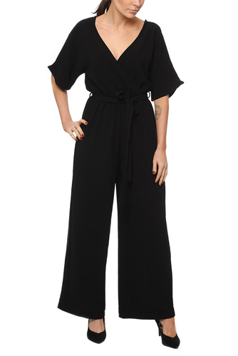 Rut & Circle OLLIE JUMPSUIT BLACK