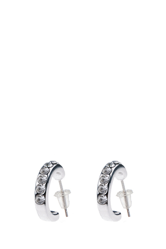 Riva Small Oval Ear Clear