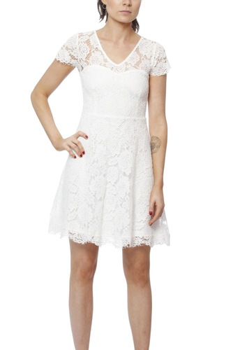 Dry Lake Daphne Dress White