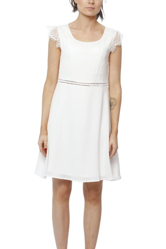Dry Lake Valerie Dress White