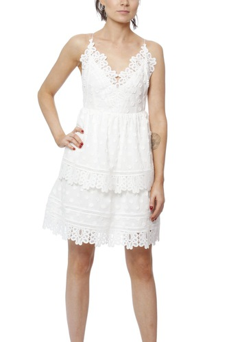 Dry Lake Diana Dress White
