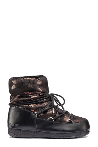 MOON BOOT MB W.E LOW CAMU WP BLACK/BRONZE