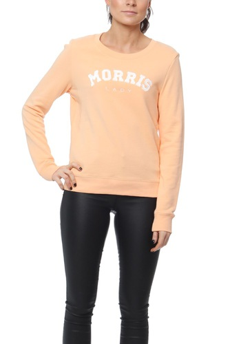 Morris LADY LOGO SWEATSHIRT ORANGE