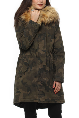 Blonde No. 8 REIMS CAMO PARKA CAMO/NATURAL