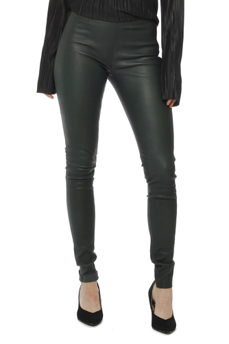 Selected Femme Sfsylvia Stretch Leather Scarab