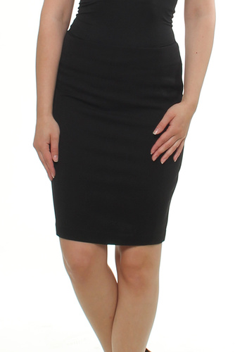 Vila VIASMIN SKIRT BLACK