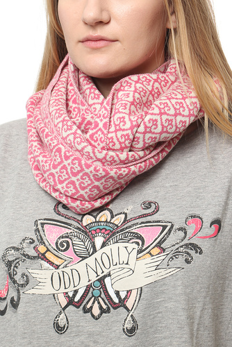 Odd Molly TUBE SCARF HOT PINK