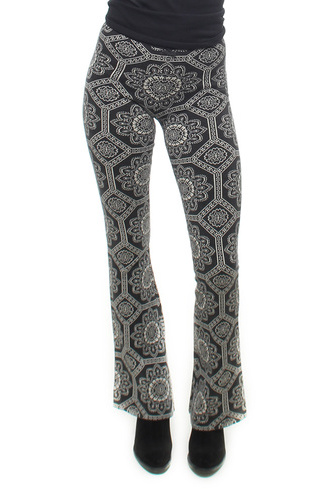 Under The Moon Leggings Almost Black