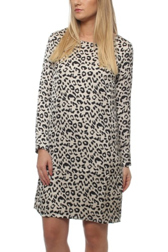 Dry Lake MOONLIGHT DRESS LOVE LEO PRINT