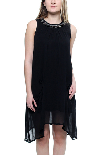 MARINA DRESS BLACK