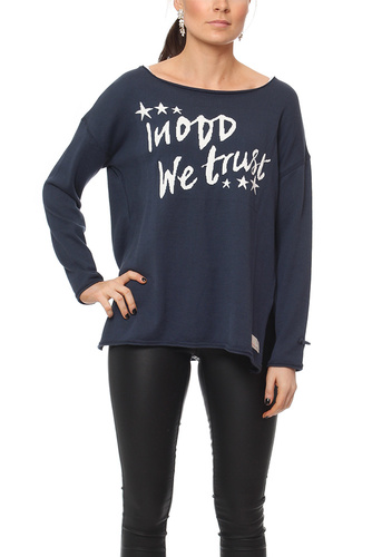 Odd Molly Hey Baby Pullover Dark Blue