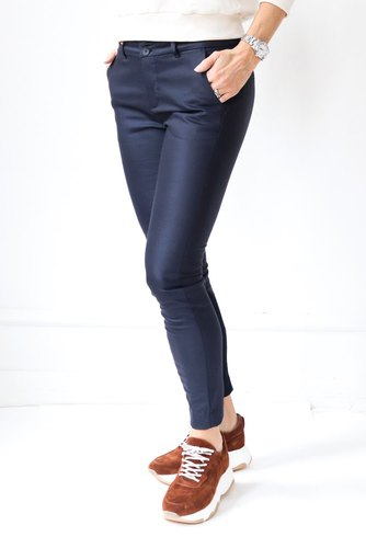 Mos Mosh Blake Night Pant Sustainable Navy
