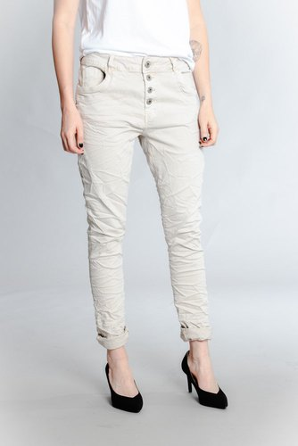Zmillas 4 Button Jeans Beige
