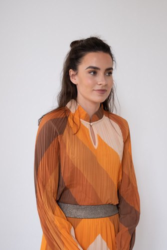 Rue de Femme New Milly Blouse Rust Mix