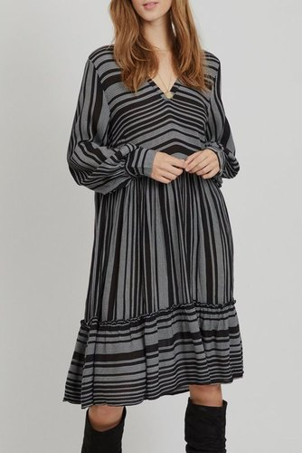 Vila Viexo L/s Dress /rx Black