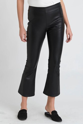 Dry Lake Flarry Trousers Faux Black