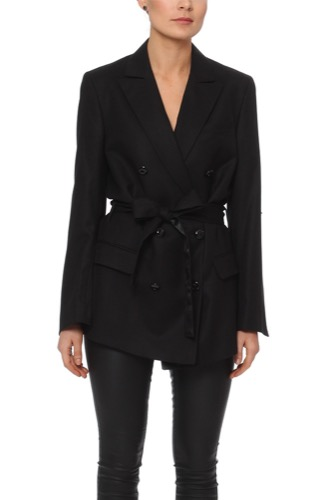 Rodebjer Zoe Long Blazer Black