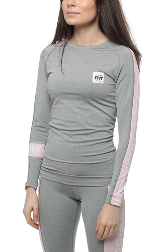 Wedge Training Longsleeve Grey Melange