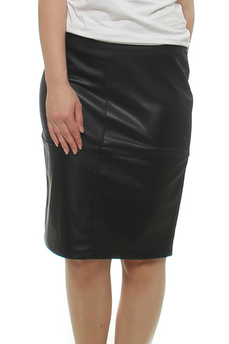Vila VIPEN NEW SKIRT BLACK