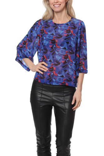 Rodebjer MAINE PRINT INTENSE BLUE