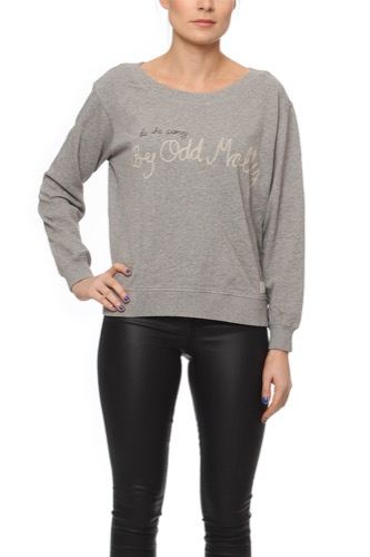 Odd Molly PLEASANT SWEATER LIGHT GREY MEL