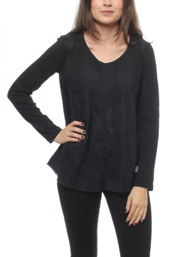 Hang Loose L/s Top Almost Black