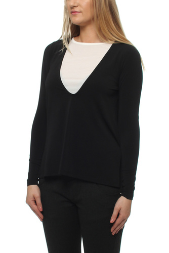 VIBAVA L/S TOP BLACK