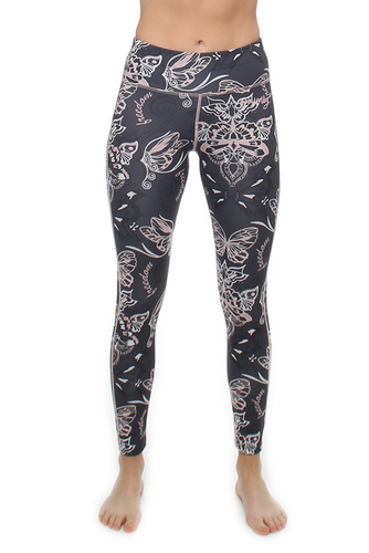 Upbeat Leggings Almost Black