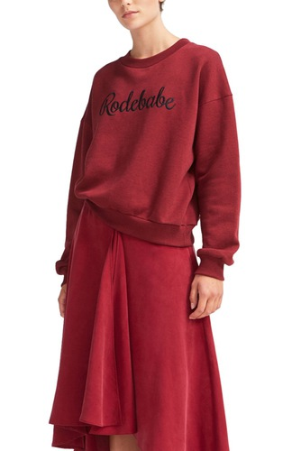 Rodebjer Rodebabe Sweatshirt Merlot Grape