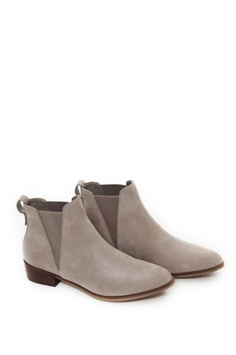 Steve Madden Nickell Chelsea Boot Taupe