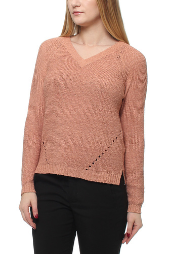 VITAPA L/S V-NECK KNITTOP ROSE DAWN