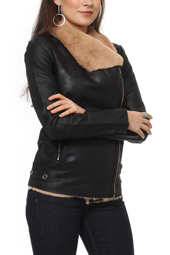 Vila VIRULA JACKET BLACK