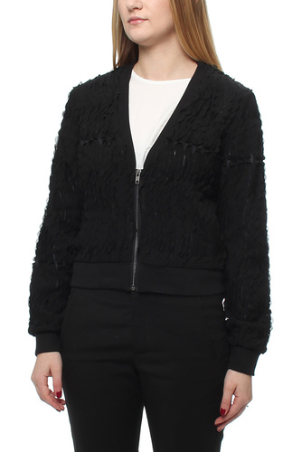 TANJA BOMBER JACKET BLACK