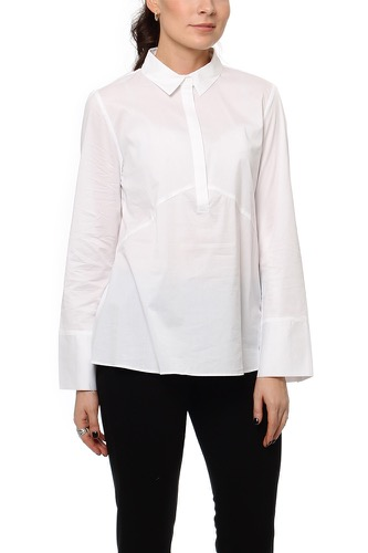 Selected Femme SFMELANIE LS SHIRT OPTICAL SNOW
