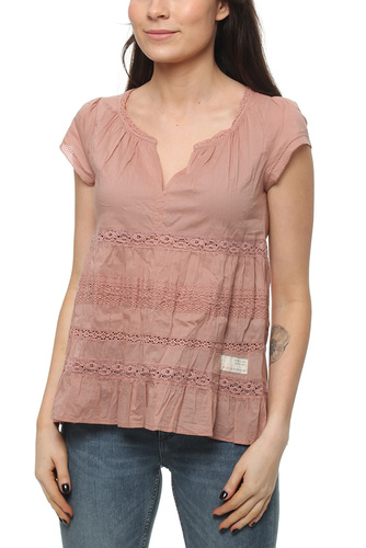 CORAL S/S BLOUSE ROSE TAUPE