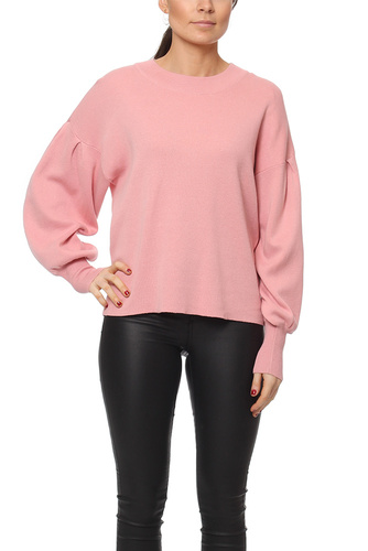 Vila VIJENIFER L/S KNIT TOP BRIDAL ROSE