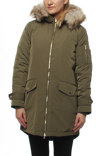 VIJALA DOWN COAT IVY GREEN