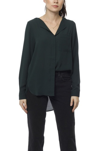 Selected Femme Slfdynella Ls Shirt Scarab