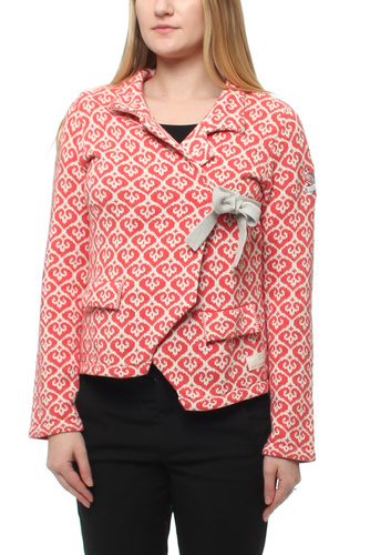Lovley Knit Jacket Bright Red