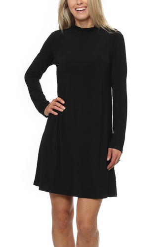 Dry Lake SPIRITUAL TURTLE DRESS BLACK