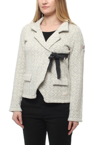 Odd Molly LOVLEY KNIT JACKET LIGHT GREY